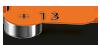 Hörgeräte-Batterie, Größe 13